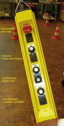 Bild 3-5: Ungeeignete Kennzeichnung, da nur Richtungspfeile vorhanden sind